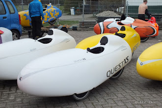 Photo: De kleinste telg, QuestXS, was er ook.