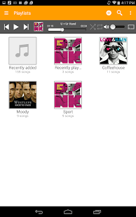 abMusic (music player) - screenshot thumbnail