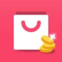 쇼핑백 (신개념 리워드 커머스) - 쇼핑 좀 한다면 캐시를 플러스 하다. icon
