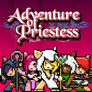 adventure of priestess for PC and MAC