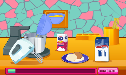 Cooking Cute and Sugary Shower Cake 1.0.0 screenshots 1