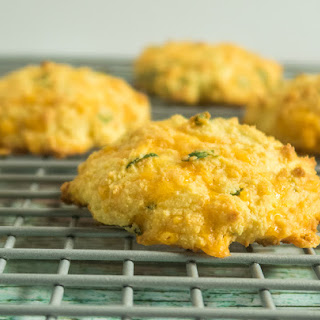 Cheesy Coconut Flour Biscuits.