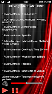 All Songs MARC ANTHONY - náhled
