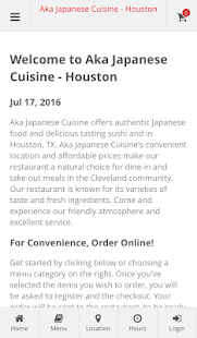 Aka Japanese Cuisine - Houston- screenshot thumbnail