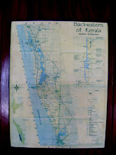Photo: Map of the backwaters