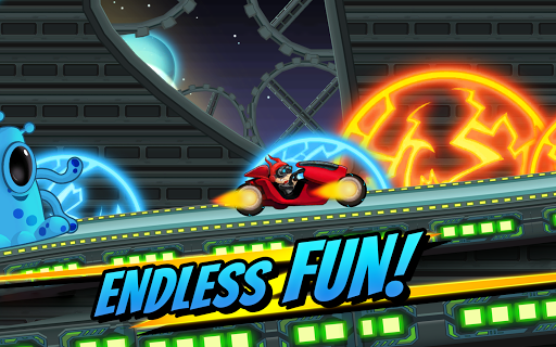 Superheroes Car Racing