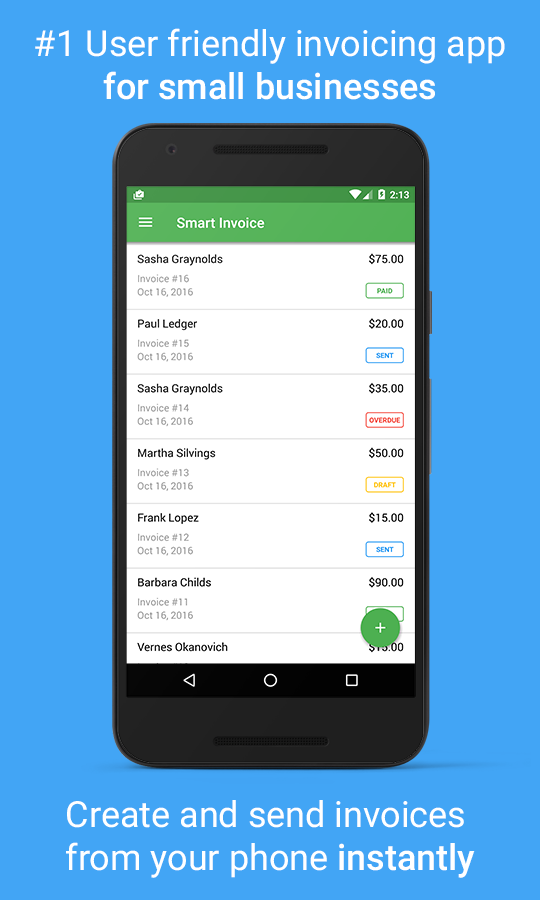 Smart Invoice: Email Invoices - Android Apps on Google Play