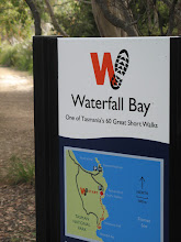 Photo: Waterfall Bay, one of Tasmania's 60 Great Walks