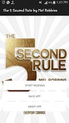 The 5 Second Rule: Transform your Life, Work APK screenshot thumbnail 1