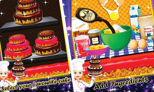 Chocolate Cake Factory – Dessert Cooking Game 1.0 Mod APK (Unlock All) 2