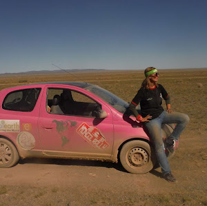Drive England to Mongolia in a Crappy Car - The Mongol Rally Pink Yak