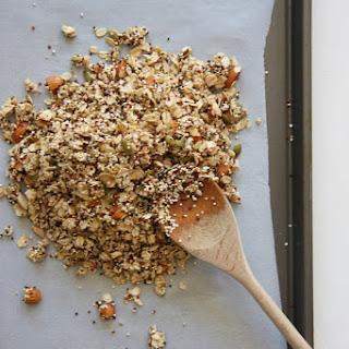 Sweet & Salty Quinoa Granola