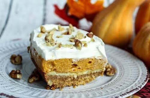 "Pumpkin Pie Dessert""My mom would kill me if she knew I was..."