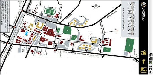 Unc Pembroke Campus Map.Uncp Campus Map Apps On Google Play