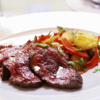 Sliced Beef with Mixed Veggies