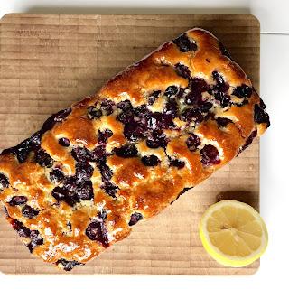 Blueberry Lemon Drizzle Cake