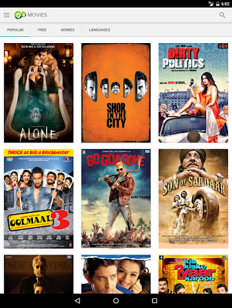 Eros Now: Watch Hindi Movies 3.1.8 screenshot 206314