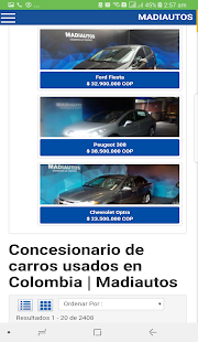 Coches Usados en Colombia - náhled
