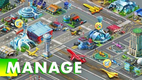 Screenshot 1 Airport City 6.15.9 APK MOD