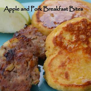 Apple & Pork Breakfast Bites.