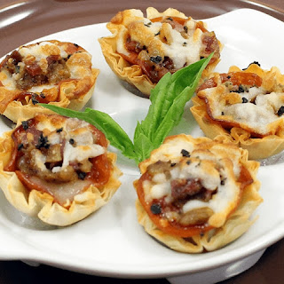 Meat Lovers Pizza Mini Shells.