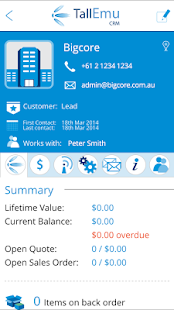 Tall Emu Mobile CRM- screenshot thumbnail