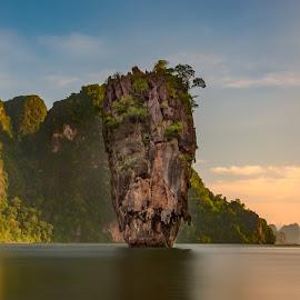 by James Wildbore - Landscapes Waterscapes ( re-edited, hdr, james bond island, luminosity masks, thailand, arcanum, phuket, photoshop )