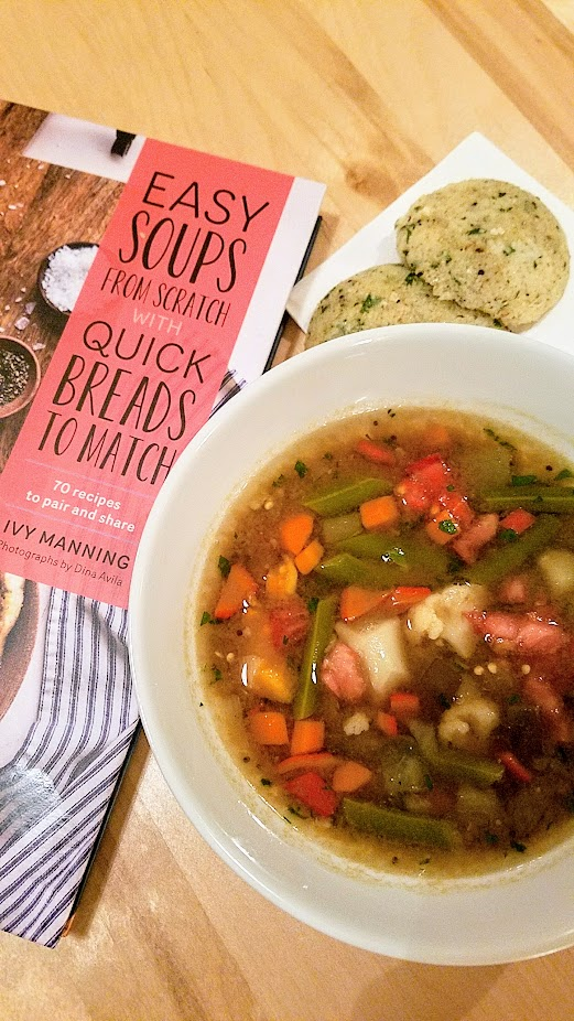 Easy Soups from Scratch with Quick Breads to Match by Ivy Manning, South Indian Sambar with Steamed Indian Idli