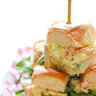 Skinny Egg Salad Sliders
