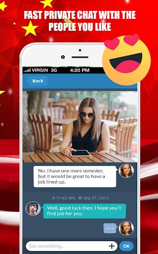 Video Chat - Live Chat Text Cam Calls 1.0 screenshots 5