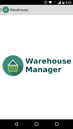 Warehouse Manager 1.2 screenshots 1