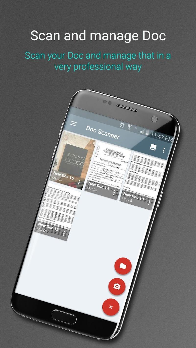 Document Scanner - PDF Creator Screenshot 1