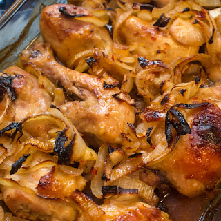 Garlic Brown Sugar Baked Chicken.