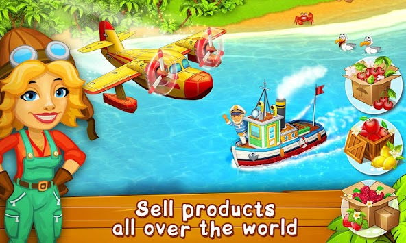 Farm Zoo: Bay Island Village apk screenshot