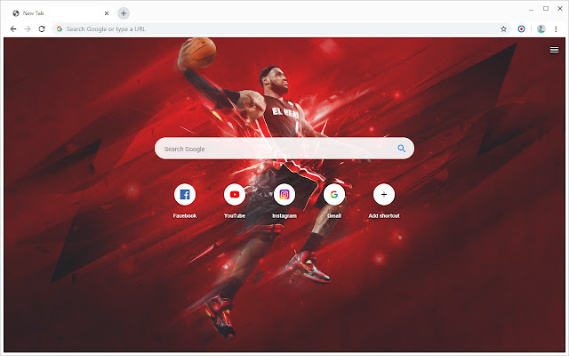 New Tab - LeBron James