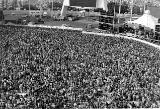 Photo: Foreigner takes the stage at Anaheim Stadium - 09/17/77.