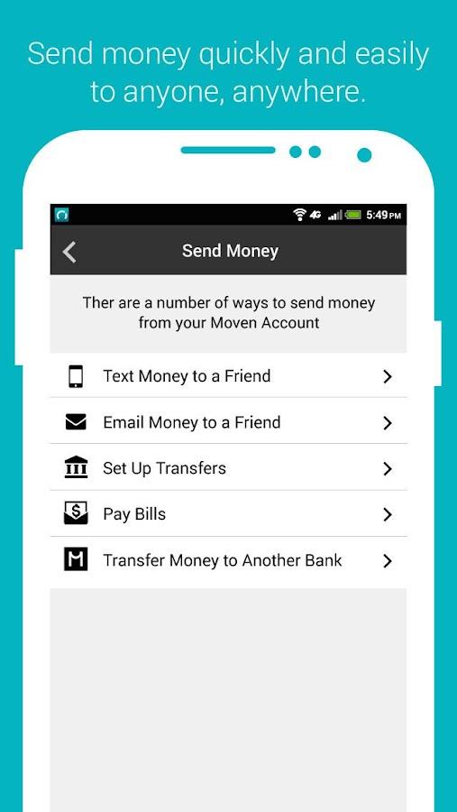 Moven - screenshot
