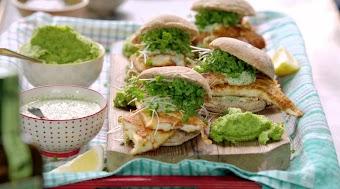 1-A-Fischbrötchen / Farfalle & Pilze
