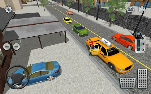 City Taxi Driving simulator: online Cab Games 2020 4