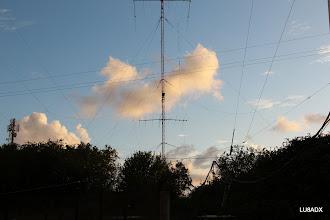 Photo: Torre con los 4 slopers para 80 metros