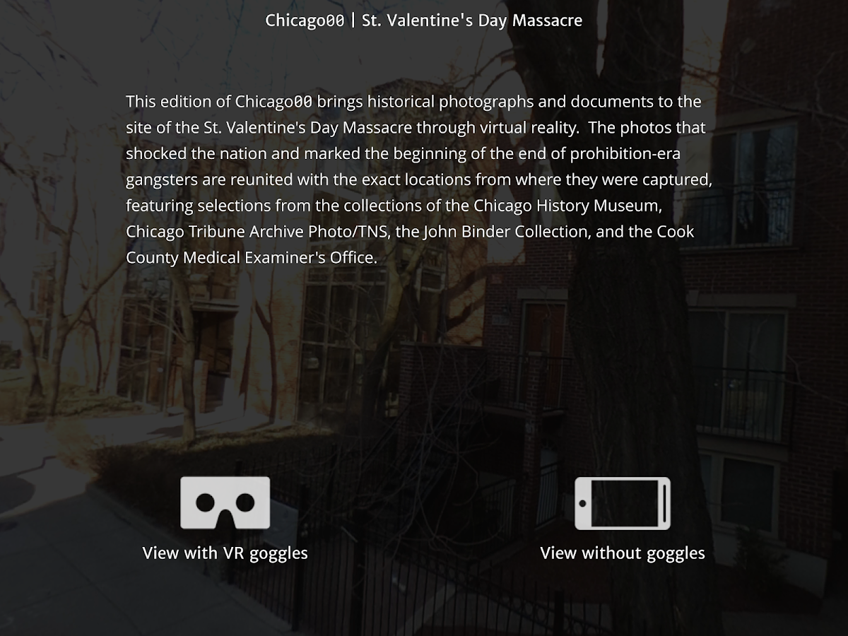 Chicago00 St. Valentine's Day Massacre VR- screenshot