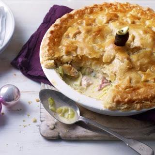 Leftover Turkey and Ham Pie Recipe