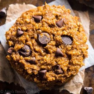 Pumpkin Pie Chocolate Chip Oatmeal Cookies Recipe