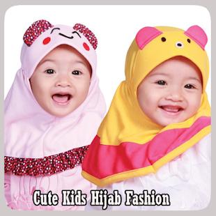 Roztomilé děti Hijab móda - náhled