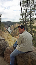 Photo: Simon at the canyon's edge