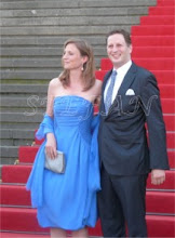 Photo: The bridal Couple Princess Sophie of Isenburg and Prince Georg Friedrich of Prussia