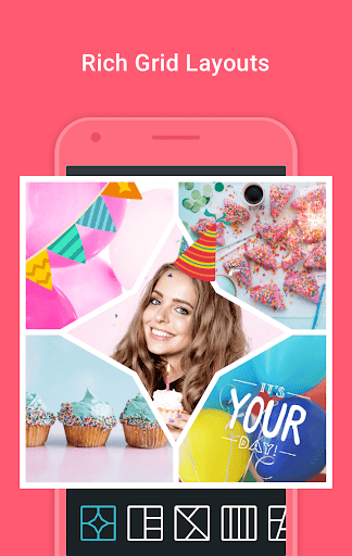 PhotoGrid Lite: Photo Collage Maker & Photo Editor 1.07 screenshots 2