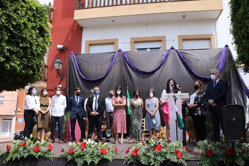 Apertura de acto institucional del Día del Municipio.
