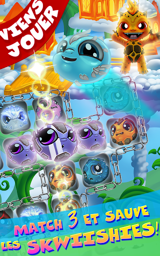 Save Our Skwiish: Charm Heroes A Fun Match 3 Quest  captures d'u00e9cran 17