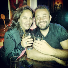 Photo: I meet Kari and she challenges me to Pisco drinking